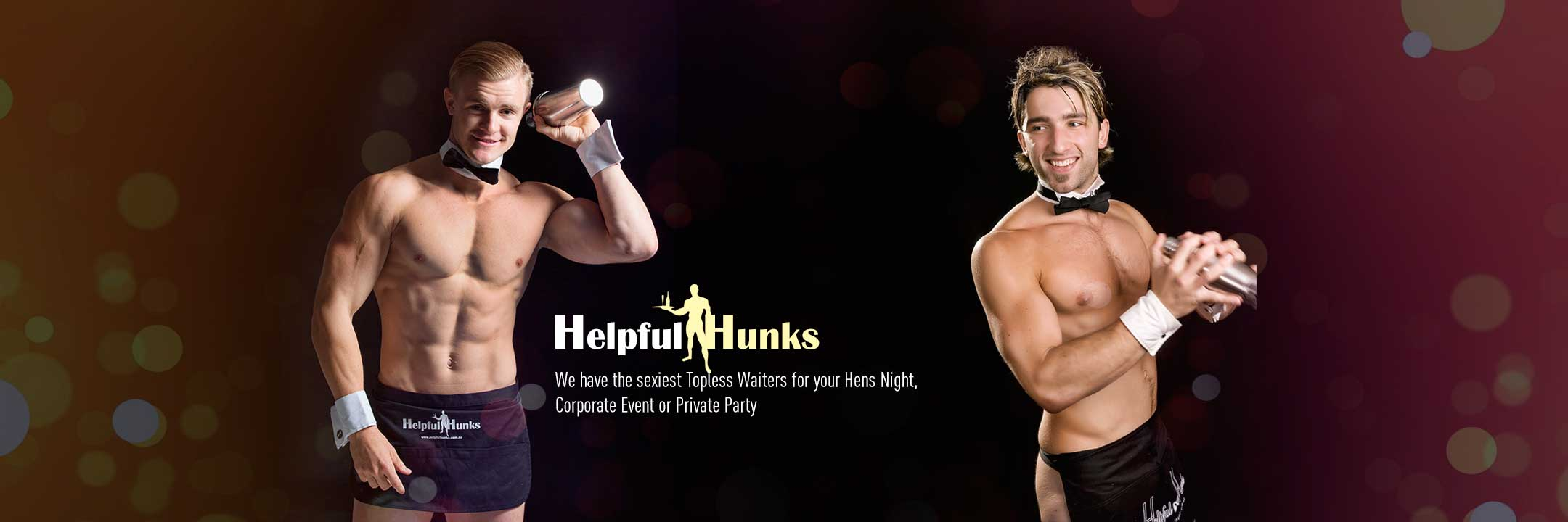 melbourne topless waiters at hens parties
